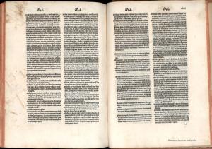 Fragmentos del Universal vocabulario en latín y en romançe. BDH (BNE)