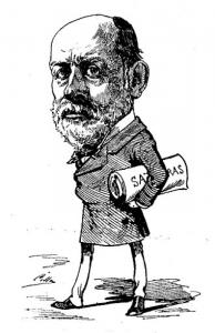Caricatura de Juan Martínez Villergas