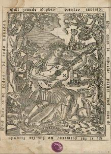 Orfeo en el manual de vihuela