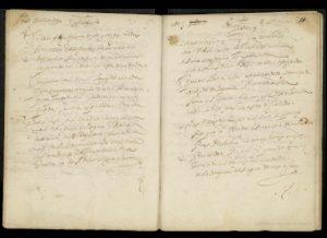 Manuscrito que recoge la poesía maluendina conservada