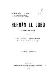 Portada de Hernán el Lobo