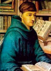 Retrato anónimo de Bernardino de Sahagún
