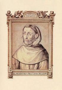 Retrato de fray Luis de León por Francisco Pacheco