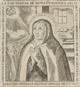 Retrato de Santa Teresa de Jesús