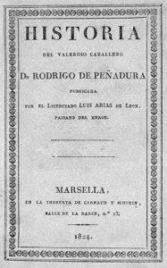 Cubierta de la edición princeps