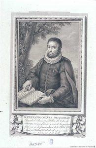 Retrato Hernán Núñez